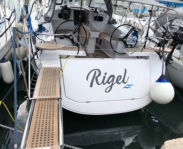 DK Yachting - Rigel yacht